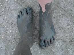 pies de barro