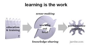 LEARNING IS THE WORK