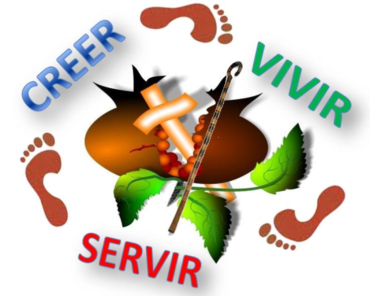 creer vivir servir
