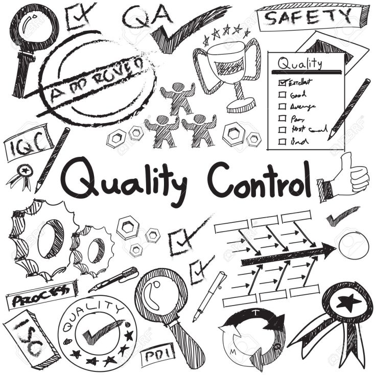 Quality control in manufacturing industry production and operati