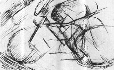 umberto-boccioni-1882-1916-dinamismo-di-un-ciclista-1913