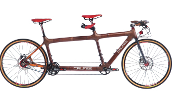 calfee-bamboo-tandem-with-rohloff-dual-disc-brakes-front-generator-hub-jones-bar-and-dual-composite-belt-drive