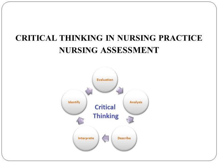 CRITICAL THINKING IN NURSING PRACTICE NURSING ASSESSMENT